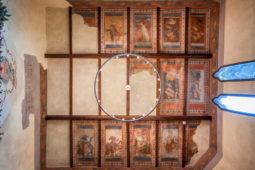 """Castello di Monterone - Affresco del soffitto """"Sala del camino"""""""