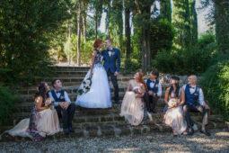 Castello di Monterone - Matrimonio nel giardino